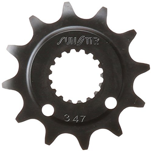 (Sunstar 34712 12-Teeth 520 Chain Size Front Countershaft Sprocket)