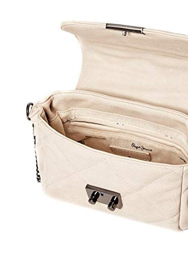 Mujer Bolso Pepejeans Blanco Ambrose Crema TTpwgrq5