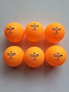 Outdoor Tisch Tennisbälle Dunlop X6orange Hohe Sichtbarkeit Glow Glo Bright...