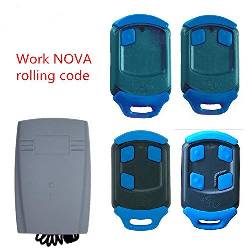 Calvas NOVA Blue Gate Garage Remote Control remote 433 mhz receiver (Nova Control Gate)