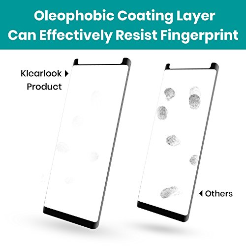 Klearlook Galaxy Note 9 Screen Protector Tempered Glass Case
