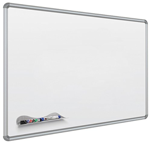 Balt Best-Rite Magne-Rite Magnetic Dry Erase Board, 96 x 48 Inches White with Silver Frame (BLT219PH) by Balt
