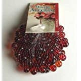 "Red Glass Marbles, 100 Count Per Order, 1/2"" in Diameter"