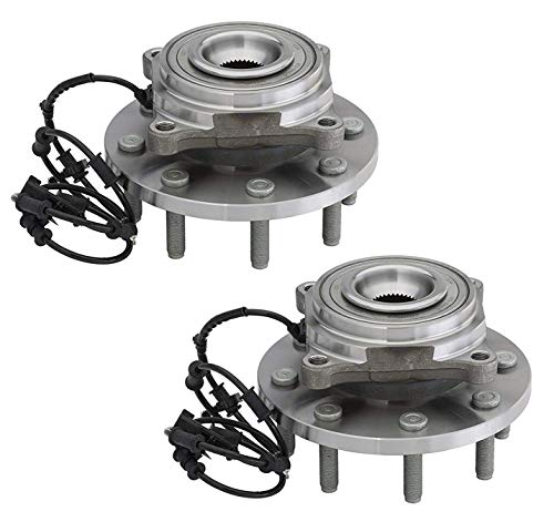 Bodeman - Pair (2) Front Wheel Hub Bearing Assembly for 2014 2015 2016 Ram 2500/3500-4WD Only