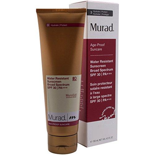 Care Sun Age Proof (Murad Age Proof Suncare, Water Resistant Sunscreen Broad Spectrum SPF 30, 4.3 fl oz (125 ml))