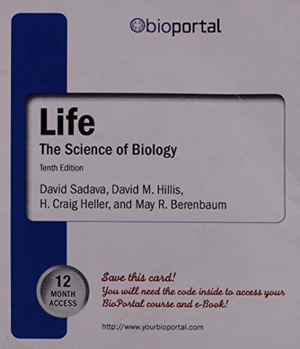 Portal Access Card for Life: The Science of Biology (12 Month)