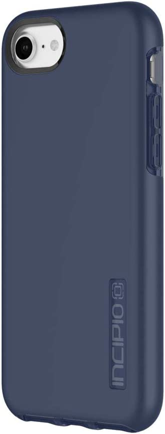 Incipio DualPro Shock-Absorbing Case with Double Protective Shells for iPhone 8/7/6/6S - Iridescent Midnight Blue