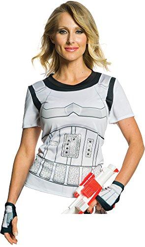 Rubie's Adult Star Wars Stormtrooper Rhinestone Costume T-shirt,