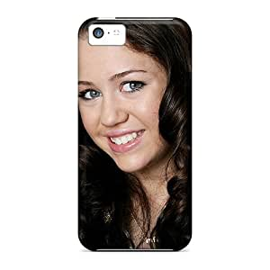 Shockproof/dirt-proof Miley Cyrus Beautiful Covers Cases For Iphone(5c)