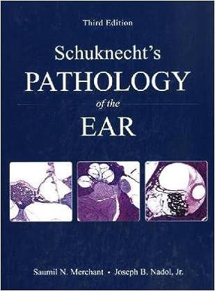 Schuknecht 39:s Pathology of the Ear
