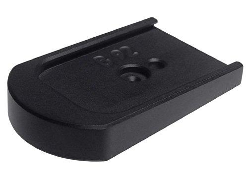 Black Billet Floor Plate Base For Beretta 92 96 92FS 96FS By NDZ - Billet Aluminum Bases