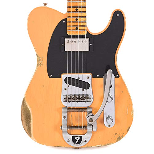 Fender Custom Shop 2019 Limited Edition '50s Vibra Telecaster Heavy Relic Aged Butterscotch ()