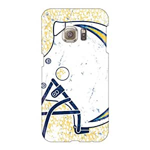 Shock-Absorbing Hard Cell-phone Case For Samsung Galaxy S6 With Customized Stylish San Diego Chargers Series RandileeStewart