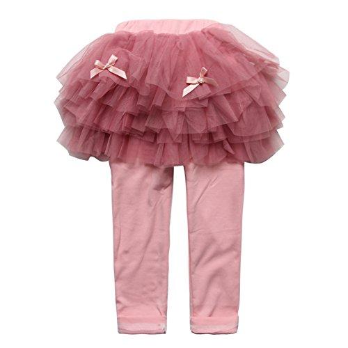 Jean Skirt Leggings - 8