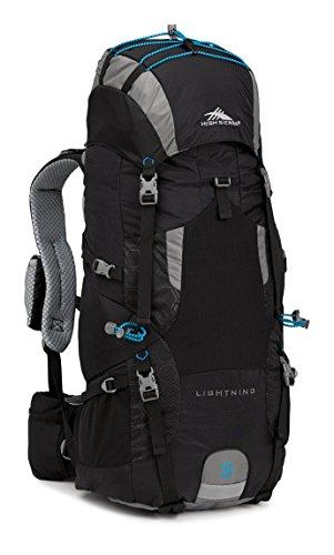 High Sierra Lightning 35 Frame Pack, Black/Charcoal/Pool