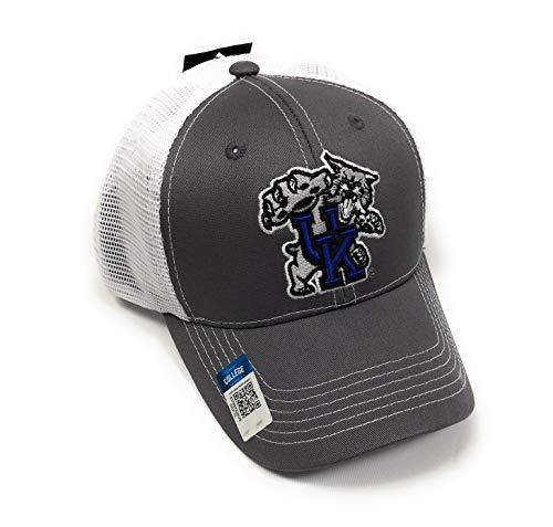 Collegiate Headwear Men's University of Kentucky Wildcats Embroidered Grey Ghost Mesh Back Cap