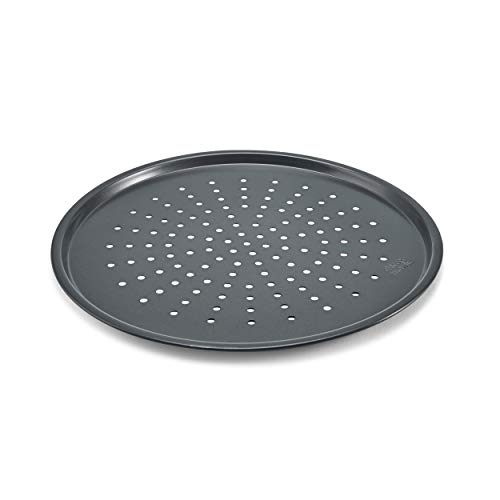 Chicago Metallic Professional Non-Stick Perforated Pizza Crisper, 14-Inch (Pizza Sheets)