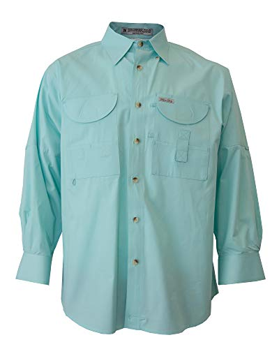 hing Shirt Long Sleeves Seafoam Mint Large ()