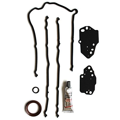 SCITOO Compatible with Timing Cover Gasket Set fit Ford F150 F250 F350 Expedition 5.4L 24V V8 Flex SOHC 2004-2012 Engine Head Gaskets Kit Set ()