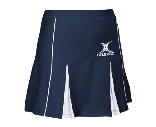 Elite Netball Skort - Navy/White Gilbert