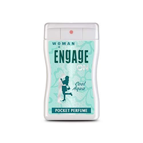 Engage ON Cool Aqua Pocket Perfume - Woman, 18.8ml