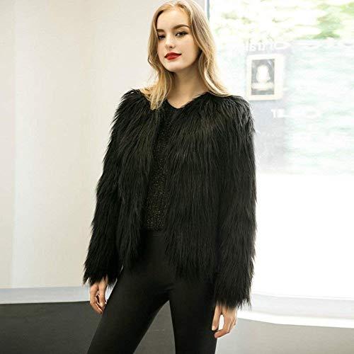 Festive Chale Outwear BoBoLily Blouson Style Hiver lgant Spcial Femme Vtements Parka paissir D'Extrieur Chaud Schwarz Manteau Vintage ZRwqSR