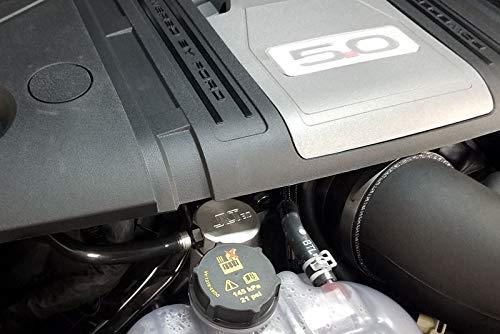 2018 Mustang GT 5.0 JLT Passenger Side Oil Separator 3.0 Satin