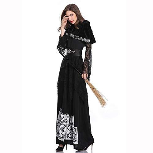 Mujer Earl Para Vampiro Vestido Fantasma Princesa De Traje Halloween Yunfeng Bruja Disfraz Oscuro Novia 1AqxRHBH