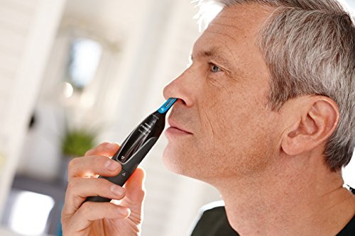 Philips Norelco Nose, Ear, and Eyebrow hair trimmer NT3000/49 - rotary precision, lithium-ion, washable, (series 3000) by Philips Norelco (Image #2)