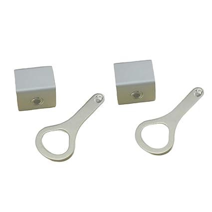 VORCOOL 2 Juegos de cerraduras de Ventanas corredizas Stop Aluminum Alloy Door Frame Security Lock
