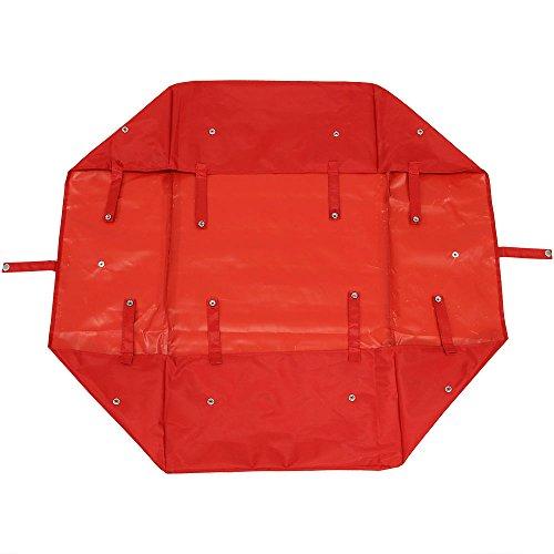 Sunnydaze Liner for Garden Utility Cart, Heavy-Duty Polyester, Red, Liner ONLY
