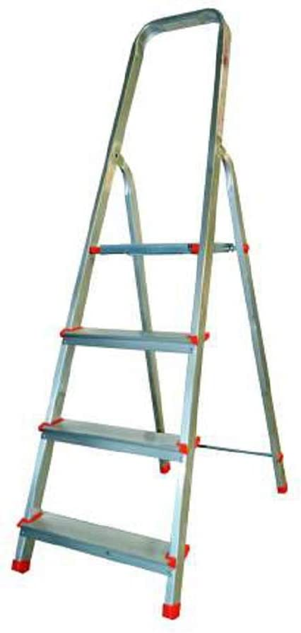 Escalera de aluminio Doméstica Gradini 4 Ultraligera Marchetti Estrella: Amazon.es: Bricolaje y herramientas