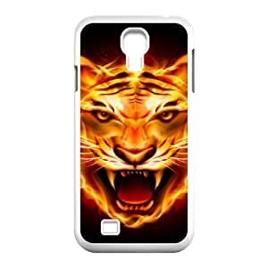 SamSung Galaxy S4 I9500 Flame Phone Back Case Custom Art Print Design Hard Shell Protection LK080195