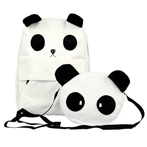TOOGOO(R) Borsa a tracolla zaino di scuola Panda Carino nuovo di moda