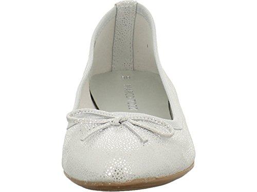 28 Marco 22121 Women's Metallic 22 Flats Ballet White 151 Tozzi wrgIrtxqP
