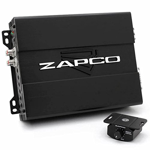 Zapco Monoblock 500W RMS Class A/B Studio X Series Low Range Amplifier