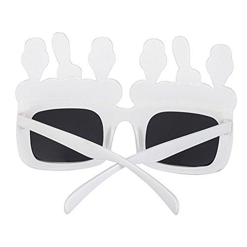 Gafas de Partido de Gafas Cumpleaños nbsp;eam Decoración Feliz Baile Rotyr Sol Fiesta CR Gafas apoyos Creativo Divertidas Fiesta Funny Hielo Suministros SPW8qHWZ