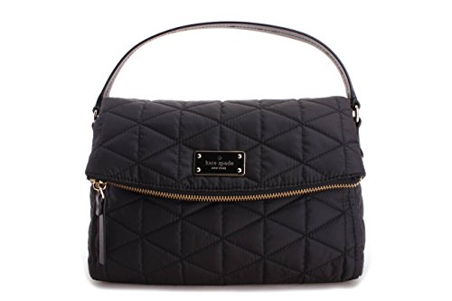 Kate Spade Blake Avenue Miri Nylon Crossbody Bag Quilted Black by Kate Spade New York
