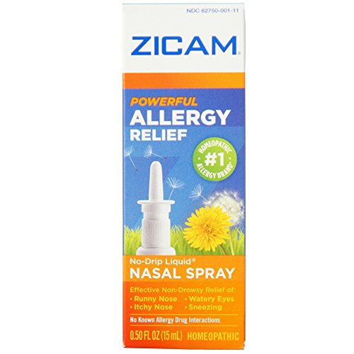 Zicam Allergy Relief Nasal Spray 0.50 oz (Pack of 2)