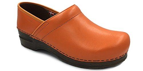 Sanita Orange Art in Orange 457006 'Professional Clogs Izabella rXIqr