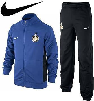 Excursión torneo rango  Nike Chándal Inter de Milán sqaud, color azul, tamaño 128-137: Amazon.es:  Deportes y aire libre