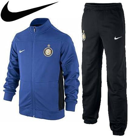 Nike Chándal Inter de Milán sqaud, color azul, tamaño 128-137: Amazon.es: Deportes y aire libre