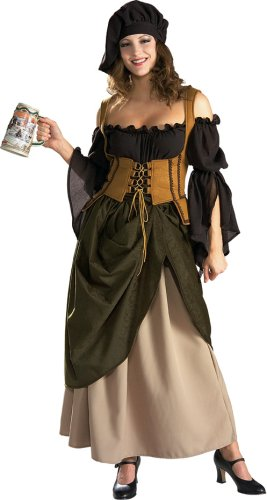 Tavern Wench Adult Costume - (Renaissance Wench Sexy Costumes)