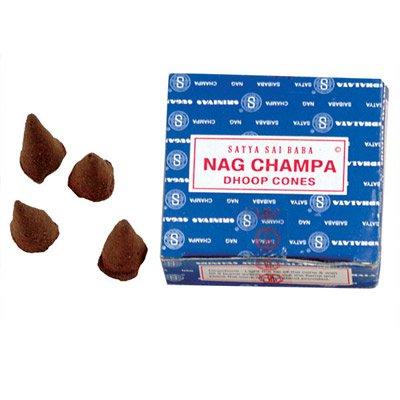 Satya Sai Baba Nag Champa Incense (Sai Incense Cones)