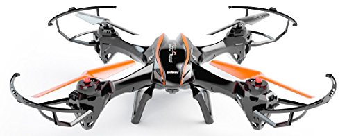 sea jump UDI RC U842 6-Axis Gyro 2.4Ghz Falcon 3D mode accelerates 360°Rolling Action RC Quadcopter /RC Drone with HD Camera, Black