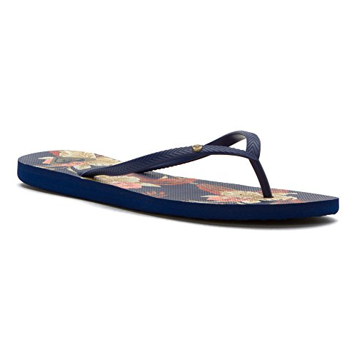 Roxy Bermuda J Sndl Cre - Sandalias de dedo Mujer azul marino