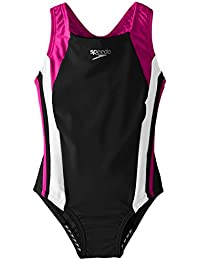 Girls' Infinity Splice One Piece Swimsuit
