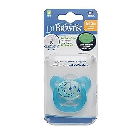 Dr Browns PreVent Ciuccio - Azul (Etapa 2, 6-12 Meses ...