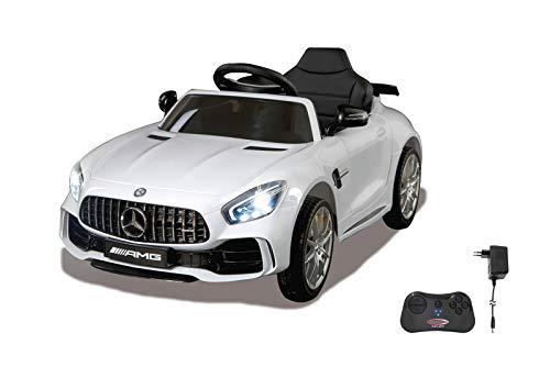 Jamara 460362 – Ride-on Mercedes-Benz AMG GT R Blanc 2,4G 12V