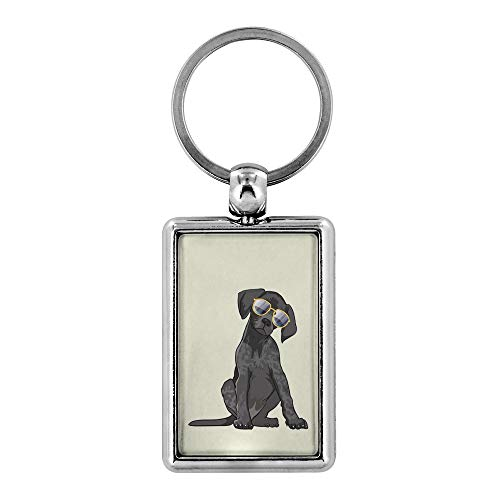 German Shorthaired Pointer Dog Keychain for Men Women Key Chain, Gifts for Dog Lover Mom Dad 9169A (Keychain Dog Pointer)